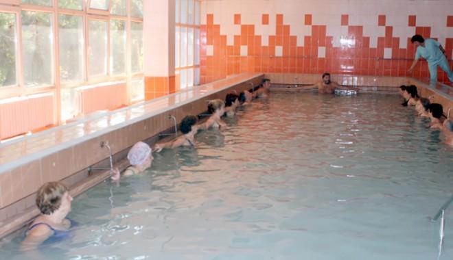 Foto: Efectele terapeutice ale masajului subacval de la Sanatoriul Balnear Mangalia