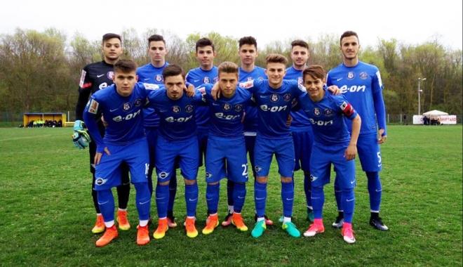 Foto: Remiză cu goluri multe la partida Axiopolis - FC Viitorul ll