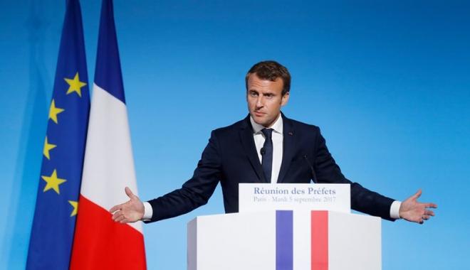 Foto: Egalitatea dintre femei și bărbați, marea cauză a mandatului lui Emmanuel Macron