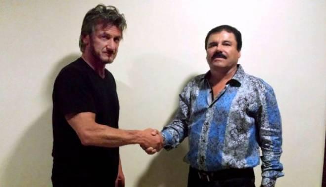 Foto: Sean Penn, în vizorul autorităților mexicane după interviul cu El Chapo