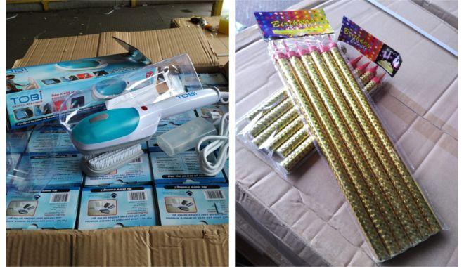 Foto: Electrocasnice contrafăcute,  confiscate în Portul Constanţa Sud Agigea