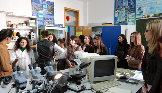 """Foto: Elevii  Liceului """"Cotovu""""  din Hârşova îşi aleg responsabil cariera"""