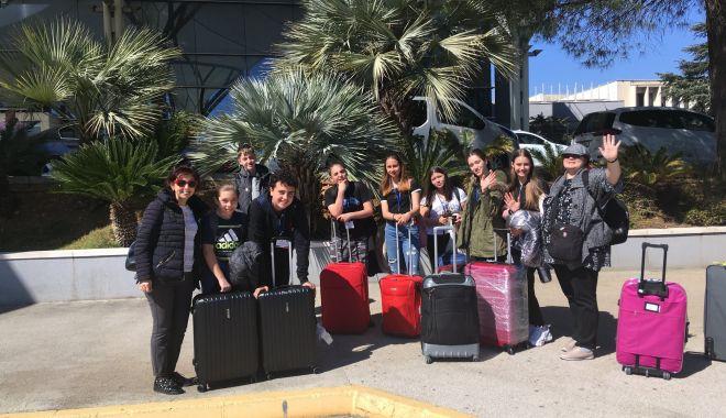 Foto: Elevii Școlii Gimnaziale nr. 38, experienţă inedită pe coasta dalmată a Croației