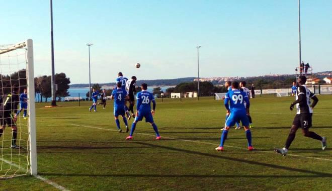 """Foto: FC Viitorul a """"spulberat"""" pe FC Koper în turneul din Croaţia"""