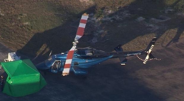 Foto: Clipe TERIBILE pe aeroport. Un muncitor a fost decapitat de elicele unui elicopter