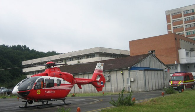 Foto: Un elicopter SMURD, repartizat la Constanța