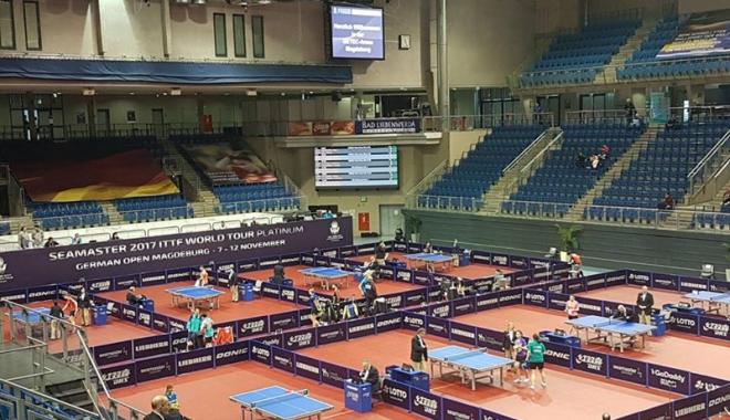 Foto: Elita tenisului  de masă mondial,  la German Open.  Nu lipsesc  nici constănţenii
