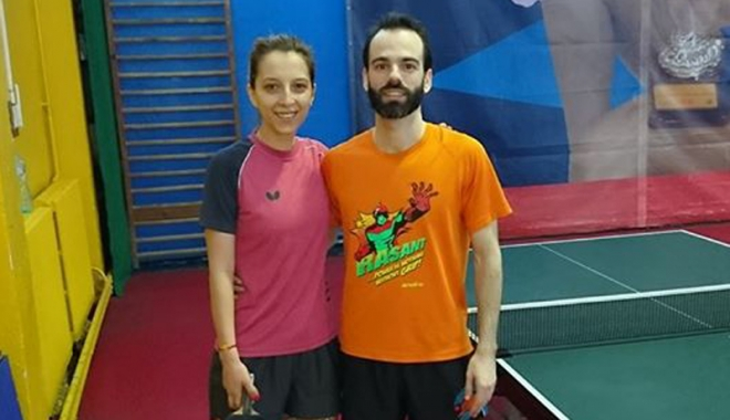 "Foto: În week-end, la sala  LPS ""Nicolae Rotaru""  Eliza Samara,  la primul meci după accidentare"