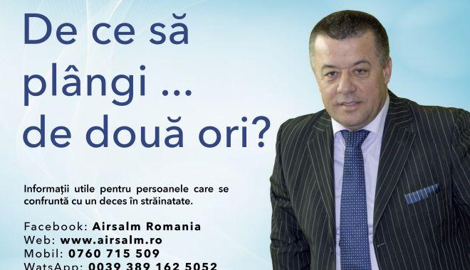 Foto: Decesul în Străinătate?  Cât costă serviciul de repatriere al unui cetățean român decedat în străinătate? Informații utile privind procedura de repatriere decedați  și  transport funerar din Comunitatea Europeană in România