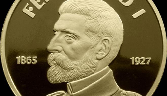 Foto: Emisiune de monede dedicate regelui Ferdinand I
