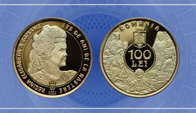Foto: Emisiune numismatică dedicată reginei Elisabeta a României