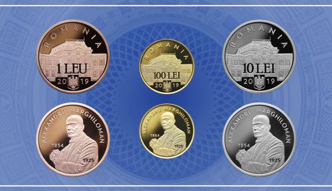 Foto: Emisiune numismatică cu tema Desăvârșirea Marii Uniri - Alexandru Marghiloman