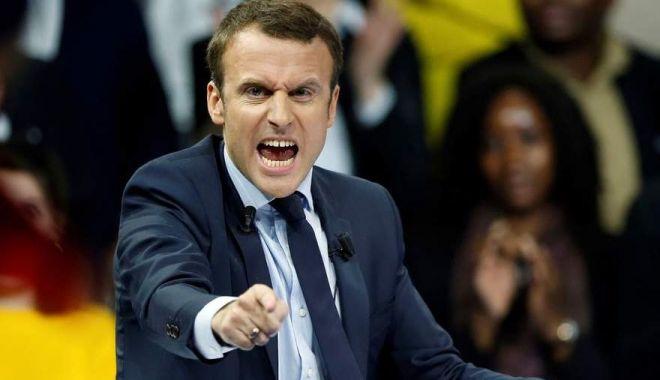 Foto: Emmanuel Macron pune tunurile pe naţionalişti
