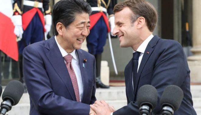 Foto: Emmanuel Macron va efectua prima sa vizită oficială în Japonia
