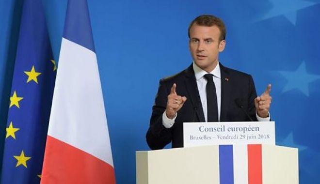 """Foto: Emmanuel Macron: """"Timpul clarității a venit!"""""""