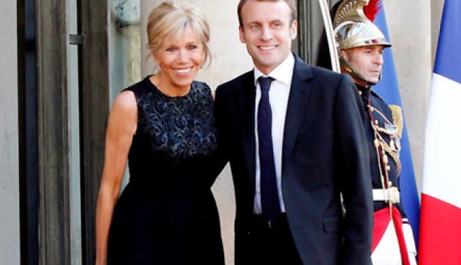 Foto: Macron, căsătorit  cu fosta lui profesoară