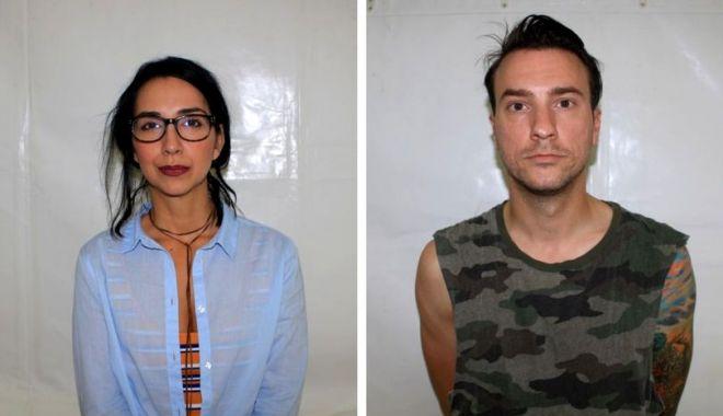 Foto: Emma Zeicescu şi Claudiu Popa, puşi sub învinuire pentru deţinere şi consum de droguri