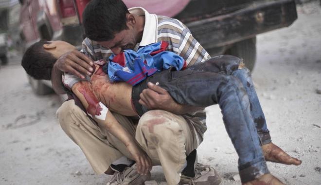 Foto: E oficial! S-a folosit gaz sarin  în atacul chimic din Siria