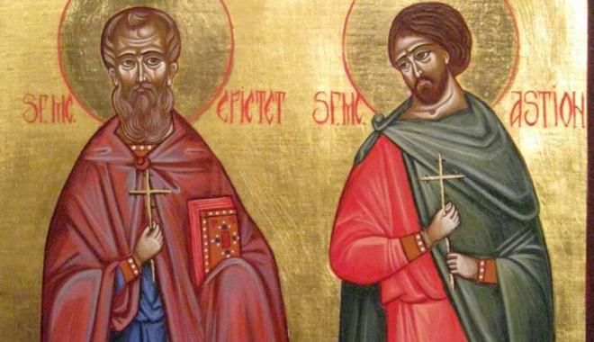 Foto: Sâmbătă, se sărbătoresc doi mari sfinţi dobrogeni: Epictet şi Astion