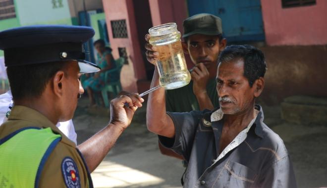 Foto: Epidemie în Sri Lanka. 300 oameni au murit