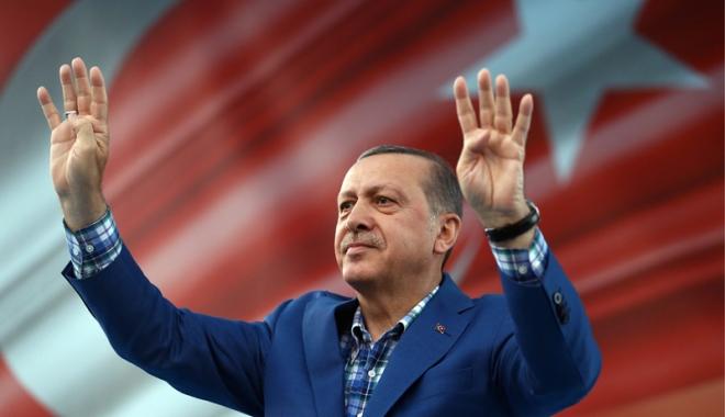 Foto: Erdogan, noi atacuri la adresa Europei: