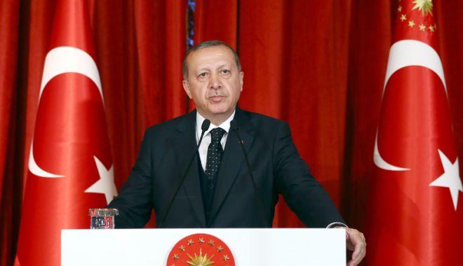 Foto: Erdogan se întâlnește, la Varna, cu liderii instituțiilor europene