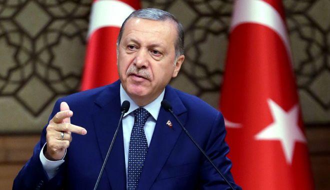 """Foto: Erdogan: """"Ankara va decide ea însăşi asupra  regiunii Afrin"""""""