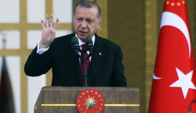 Foto: Erdogan acuză regimul sirian de sabotarea acordului de la Astana