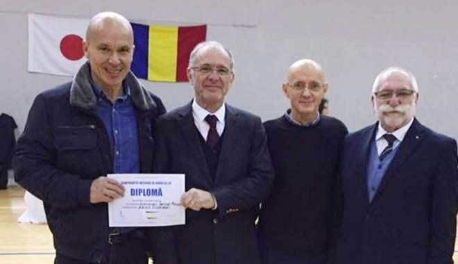 Foto: Ervin Ciorabai, premiat  cu Diploma Fighting Spirit