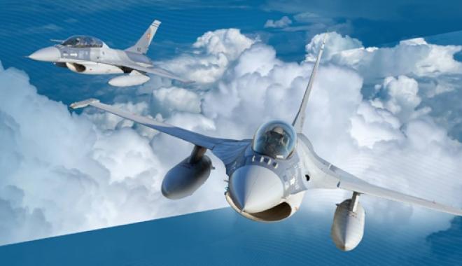 Foto: Escadrila F-16 a Forţelor Aeriene Române, completată cu încă 3 avioane