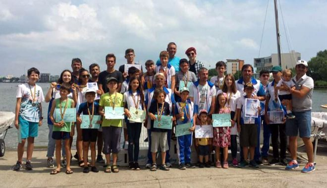 Foto: E timpul pentru yachting! Velierii, spectacol pe lacul Siutghiol