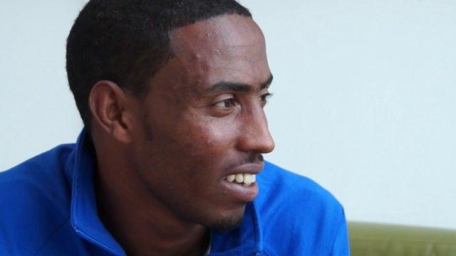 Foto: Etiopianul Getu Feleke a câştigat maratonul de la Viena