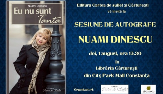 """Foto: Actri�a Nuami Dinescu: """"Eu nu sunt Tan�a!"""""""