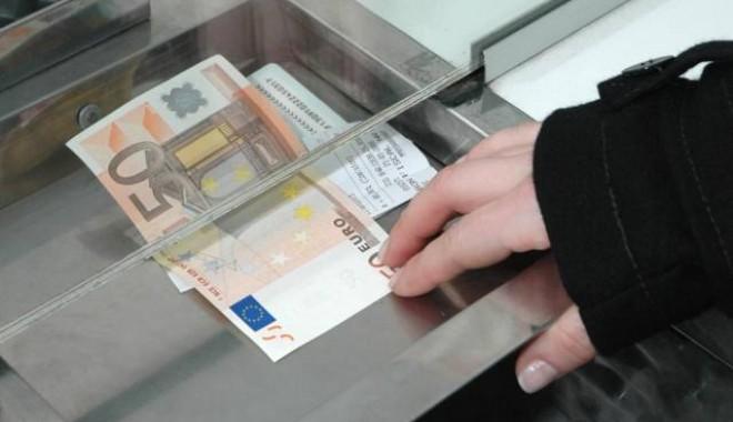 Foto: EURO, la un nou MAXIM ISTORIC pe piaţa interbancară