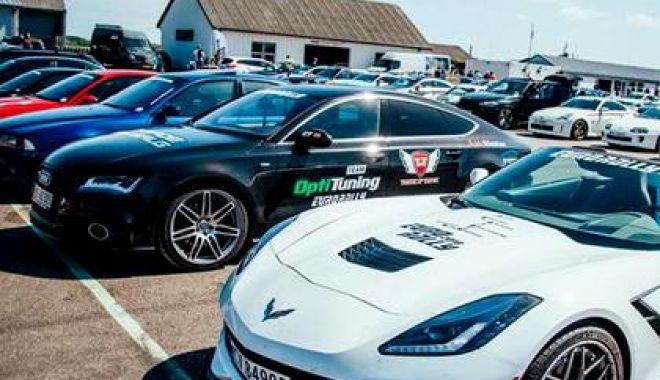 Foto: Poliția a confiscat 120 de mașini sport, ce