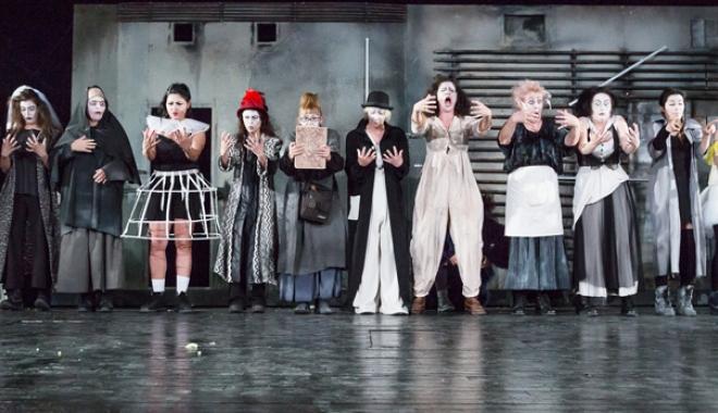 """Foto: Teatrul de Stat Constanţa  începe stagiunea  cu Eutopia. """"Nu este  un spectacol dedicat minorilor"""""""