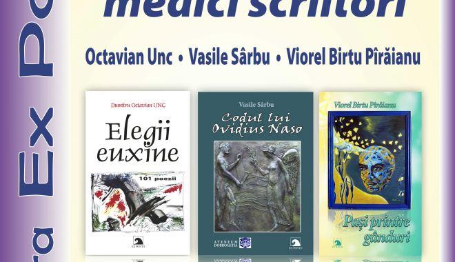 Foto: Eveniment de excepție: Trei medici scriitori constănțeni își lansează cărțile