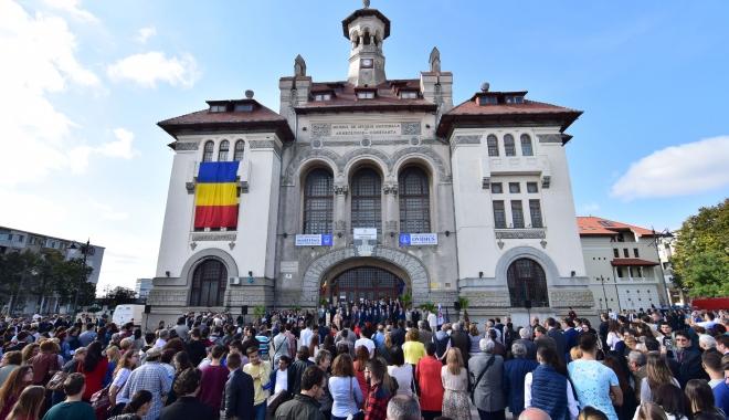 Foto: Eveniment inedit la Constanţa! Festivitate comună de deschidere a anului universitar, la toate cele trei instituţii de învăţământ superior de stat din municipiu