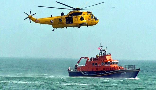Foto: Exercițiu de căutare și salvare a vieții omenești pe mare