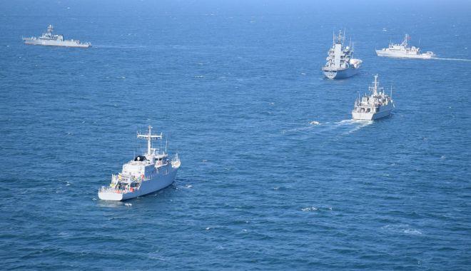 Foto: Forţele Navale Române participă la cel mai mare exerciţiu organizat de Turcia