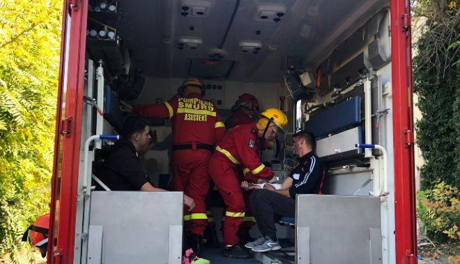 Foto: SEISM 2018. Zbor de evacuare medicală, executat de Forțele Aeriene Române