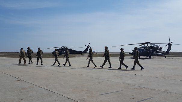 Foto: Ministrul canadian al apărării, vizită la Baza 57 Aeriană Mihail Kogălniceanu