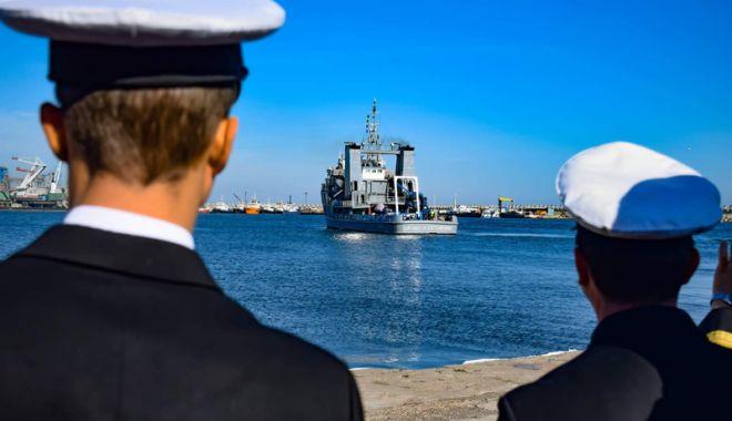 Foto: Exercițiul Danube Protector s-a încheiat. Marinarii militari  s-au întors acasă
