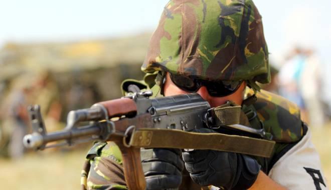 Foto: Trupele speciale ale Armatei şi MAI, operaţiune de comando la Constanţa