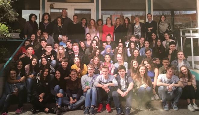 Foto: Experienţa hispanică a delegaţiei Colegiului Pedagogic
