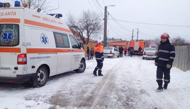 Foto: Explozie la Mihail Kogălniceanu