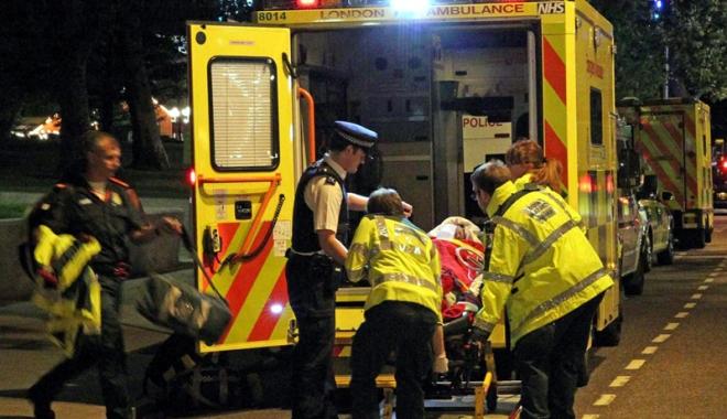 Foto: Panică la Londra. Accident rutier sau atac terorist?