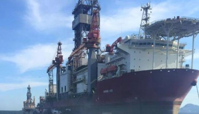 Foto: Explozie cu victime pe o navă de foraj