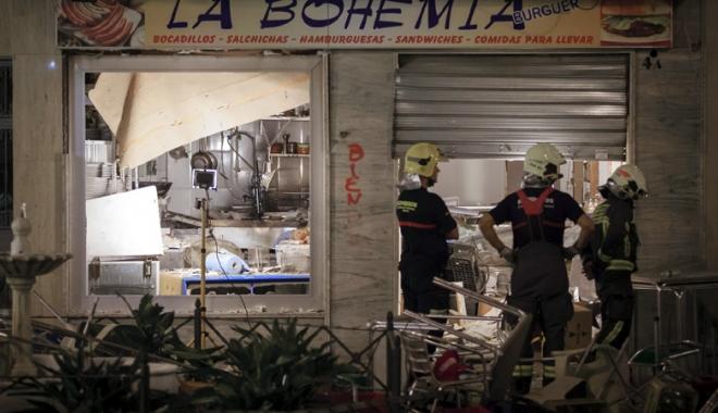 Foto: Momente de groază în Spania. 77 de victime, în urma unei explozii