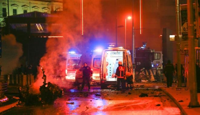 Foto: Explozie la o fabrică  de textile din Turcia.  40 de persoane  au fost spitalizate